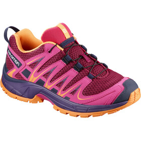 Salomon Junior XA Pro 3D Shoes Cerise/Acai/Bird of Paradise